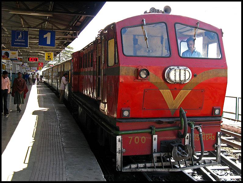Shimla kalka toy train