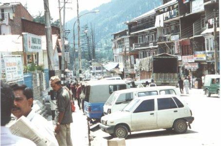 Manali Town