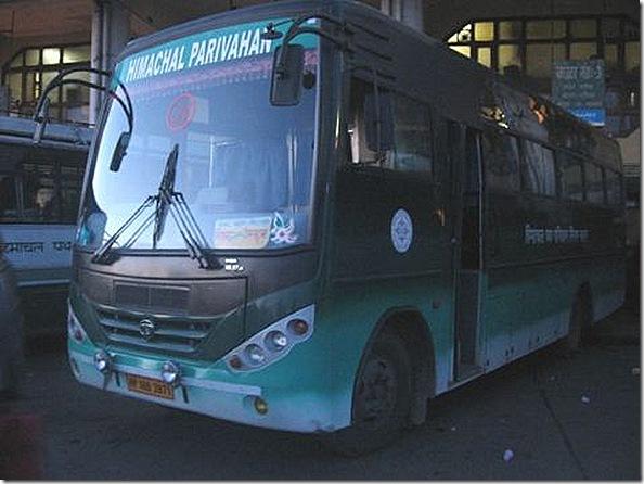 hrtc deluxe bus