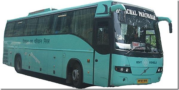 hrtc volvo bus