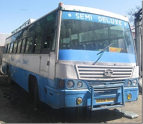 HRTC semi deluxe bus