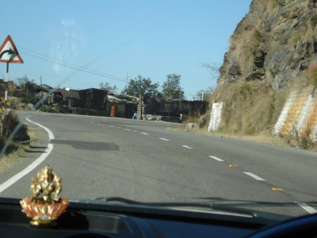 Shimla highway NH22