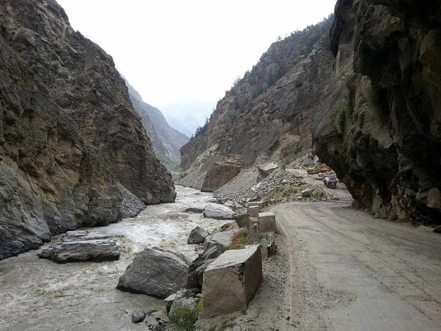 Landslide sangla kalpa puh khab