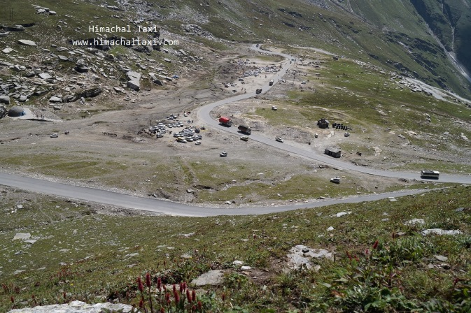 View of Rohtang Pass above 1000 ft