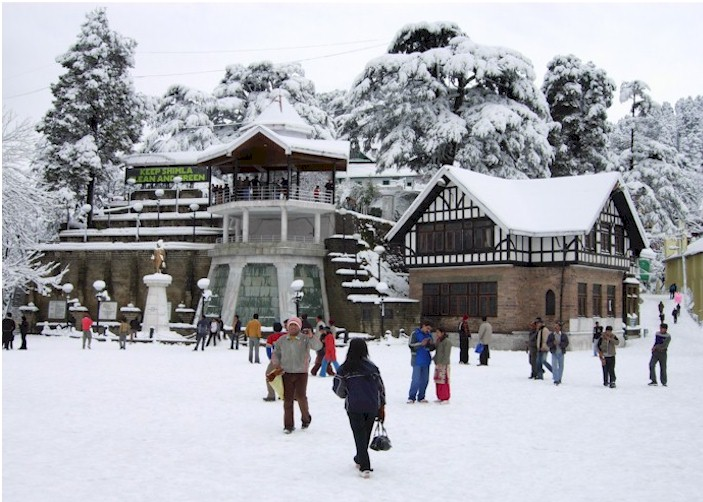 Tourist Destinations To Be Covered During Your Shimla Trip